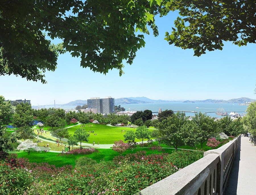 Francisco Park Rendering 13 0916
